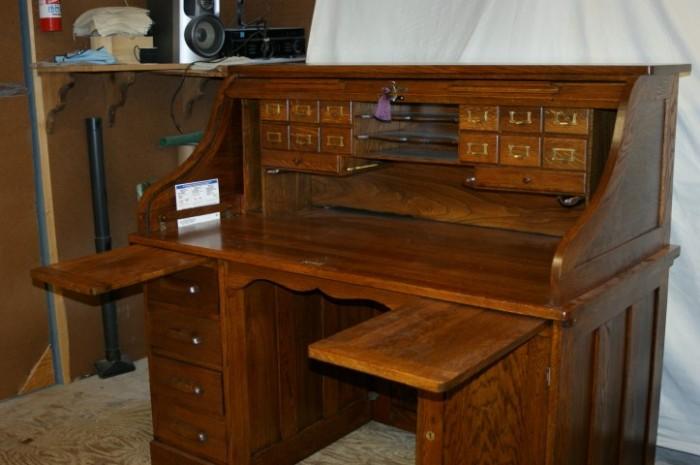 Roll Top Desk - Wooden Restorations - Furniture & Antique Repair Refinishing